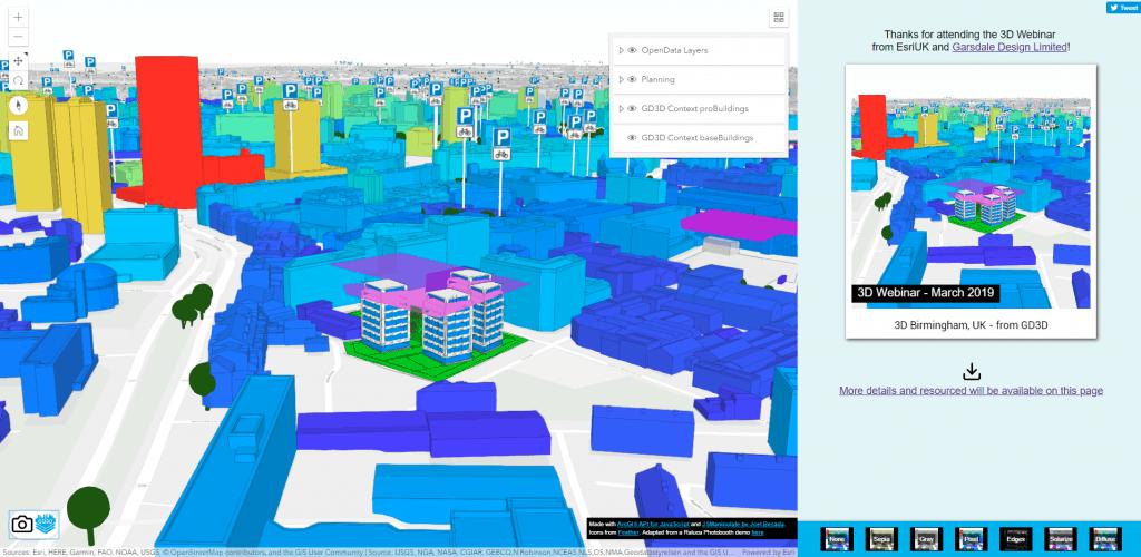 3D GIS & CityEngine Webinar 2019 - Garsdale Design Limited